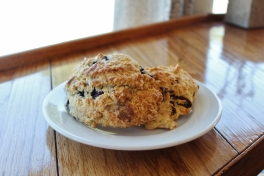Cranberry & Blueberry Scone