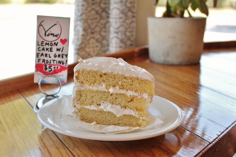 Saturday Morning Cake slice